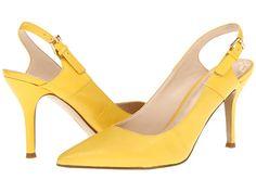 Nine West Foe Yellow/Yellow Leather - 6pm.com