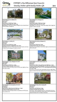 Check out Our Open Houses!