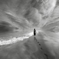 """""""Solitude can be frightening because it invites us to meet a stranger we think we may not want to know – ourselves."""" ~ Melvyn Kinder"""