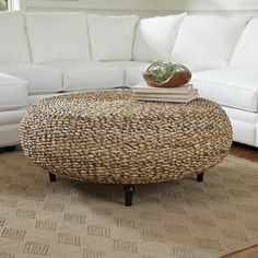 Absolutely love this coffee table and it would fit with so many different design styles.