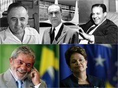 Por Dentro... em Rosa: Vargas, JK, Jango, Lula, Dilma e a oposição ao des...