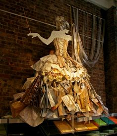 shrine to paper, pinned by Ton van der Veer