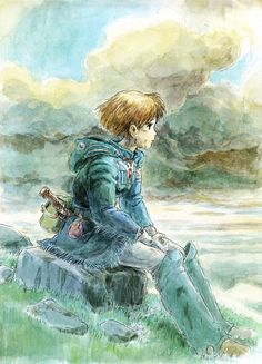 Nausicaä Of The Valley of the Wind --Watercolor Impressions // Hayao Miyazaki