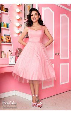Pink Ruffled Princess Gown - Marilyn Monroe Halloween Costume ...
