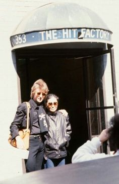 Outside The Hit Factory 1980