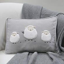 Lambs & Ivy® Signature Goodnight Sheep Gray/White Sheep Decorative Pillow