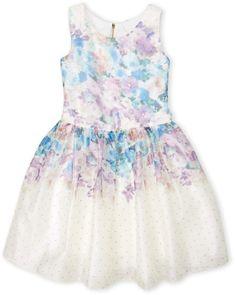 76c980dc519 Lilac Floral Bow-Accent A-Line Dress - Toddler   Girls  zulilyfinds