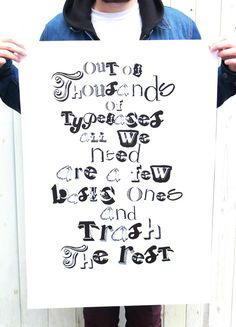 ethics and issues. by James Worton, via Behance