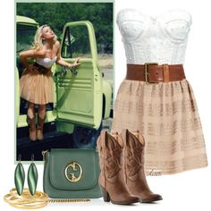 Sexy Cowgirl by christa72 on Polyvore
