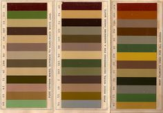Historic Paint Colors for the Victorian Home: Part One. found on oldhouseblog.blogspot.com