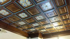 Artesonados de madera. Skylights, Wood Ceilings, Verandas, Staircases, Custom Furniture, Furniture Restoration