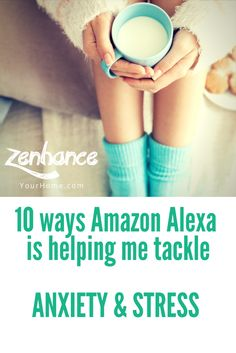 10 ways Amazon Alexa is helping me tackle anxiety & stress Smart Home Technology, Stress And Anxiety, Help Me, Amazon, Tips, Amazons, Riding Habit, Advice, Amazon River