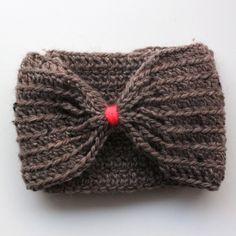 Lutter Idyll: DIY - Crochet diadema con lazo para las niñas