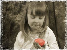 Little girl with Easter Egg