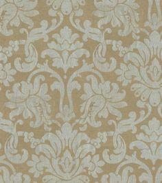Home Decor Print Fabric-Waverly Shining Moment FoilHome Decor Print Fabric-Waverly Shining Moment Foil,