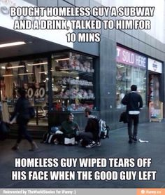 Gotta do this one day. We need more of these actions in the world.
