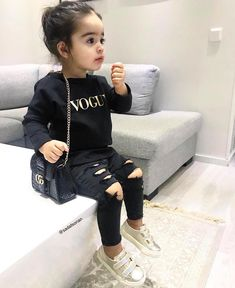 Outfit is everything! Outfit is everything! Outfit is everything! Outfit is everything! Cute Little Girls Outfits, Kids Outfits Girls, Toddler Girl Outfits, Cute Baby Outfits, Boy Toddler, Cute Kids Fashion, Little Girl Fashion, Toddler Fashion, Boy Fashion
