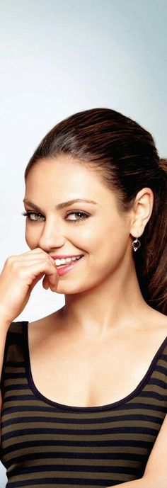 Mila Kunis - I think I've only seen one of her movies but she's got beautiful eyes.