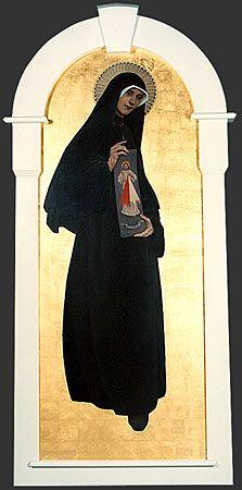 St. Faustina (artist Gloria Thomas)