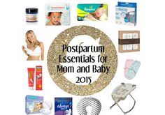 It can be difficult to adjust during this period if you don't know what to expect. Here is my list of postpartum essentials for mom and baby.
