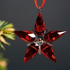 Swarovski Poinsettia Ornament, small