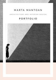 Architecture and Interior Design Portfolio Marta Mantoan