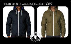 18695892612 The Henri Lloyd Windra Zip Thru Jacket. A hooded jacket with elastic cuffs  and hem