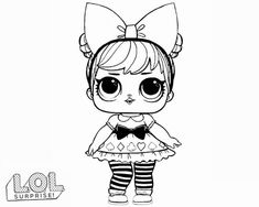 Coloring Pages For Girls Lol from Lol Doll Coloring Pages Printable. Toys LOL are treading the peak of popularity among children throughout the world. Even though the doll inside the LOL Surprise ball is not exactly rev.