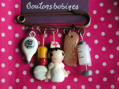 Broches et Epingles - Boutons, bobines etc...