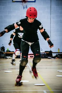 6. Be proud. You are braver than 99% of the population. You had the guts to strap on a pair of skates and throw yourself around a track. How many people do you know that had the ladyballs to do something like that?
