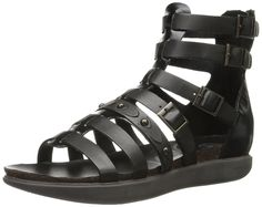 OTBT Women's Marin Gladiator Sandal >>> Find out more details by clicking the image : Women's Flats Sandals Black Gladiator Sandals, Flat Sandals, Women's Flats, Latest Fashion For Women, Womens Fashion, Marines, Fancy, Stuff To Buy, Shoes