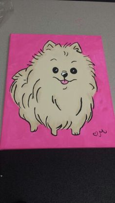 How To Draw A Pomeranian Dog Step By Step Drawing