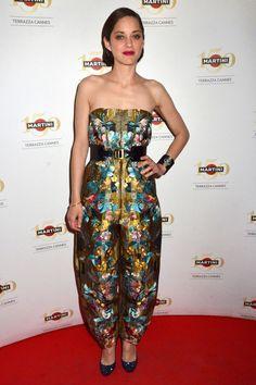 Marion Cotillard in Alexander McQueen, 2013