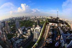 Guess where we are Sky Moon, City Of Angels, Vertigo, Bangkok, San Francisco Skyline, Times Square, Bar, Travel, Viajes