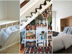 Lepší řešení byste nenašli: fantastické nápady úložných prostorů pro malé bytové rozměry! Garden Projects, Stairs, Home Decor, Stairway, Decoration Home, Room Decor, Staircases, Home Interior Design, Ladders