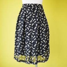 Cat lady gear - printed skirt ( I would wear this for real though...)
