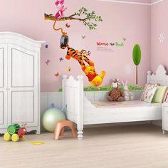 Winnie The Pooh Wall Sticker – the treasure thrift