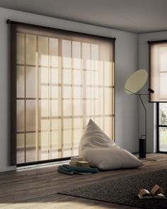 Naked is an elegant contemporary blind system suitable for modern interiors. Simple end brackets are made of steel and can be personalised with any RAL colour. Modern Blinds, Elegant Home Decor, Elegant Homes, Living Room Blinds, House Blinds, Home Room Design, Home Look, House Rooms, Houses