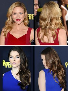Step by step instructions for retro waves seen on Brittany Snow and Anna Kendrick at the Pitch Perfect 2 premiere!