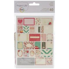 Becky Higgins Project Life 380248 Themed Cards, thematic maps: Amazon.de: Kitchen & Home