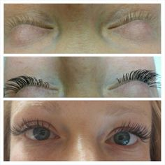 Jennifer wanted a natural look. Very nice Minkys eyelash ...