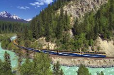 Canada - As you gain altitude onboard the two-day rail journey from a mountain resort town  in Alberta through the Canadian Rockies, it's also quite possible you might gain weight. Splurge on Gold Leaf Service and you'll enjoy cooked-to-order breakfasts and lunches, served in the dining car, and unlimited cocktails and snacks served by hosts on the observation level. The passing scenery is just as irresistible. Fun fact: In 2009, The Bachelorette (Jillian's season) filmed onboard the train.