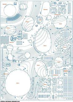 平面图中如何表达设计的概念和空间的体验?技法大列举,总有一款适合你!