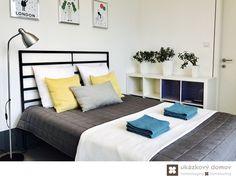 Home Staging zařízeného rodinného domu v obci Hvězdonice u Prahy #Hvezdonice #czech #homestaging #pred #po #before #after #white #walls #modern #vila #loznice #cz #czechrepublic #bedroom #yellow #doplnky