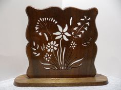 Wildflowers Standing Plaque by dreamwvr81 on Etsy, $10.00