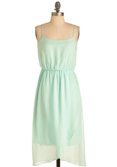 Backstage at the Ballet Dress in Mint, #ModCloth