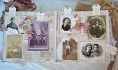 Dreamworld of Elena Karpova: Семейный архив или альбом для любимой бабушки на 80-летний юбилей