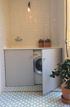 Skanska Nya Hem gillar tanken på att gömma tvättmaskinen bakom en fin fasad.
