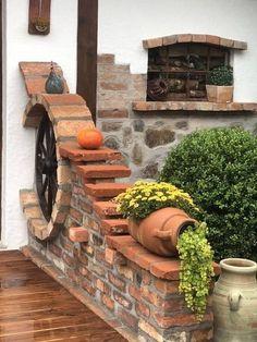 Fotos en el muro de la comunidad | VK Backyard Patio Designs, Front Yard Landscaping, Landscape Design, Garden Design, Garden Deco, Outdoor Kitchen Design, Garden Paths, Garden Projects, Outdoor Gardens