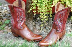 Bling Boots American Tribute: Red, White, and Blue